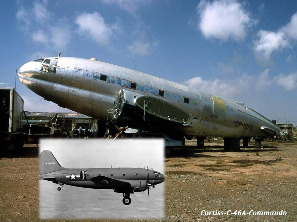 CURTISS - C - 46A - COMMANDO