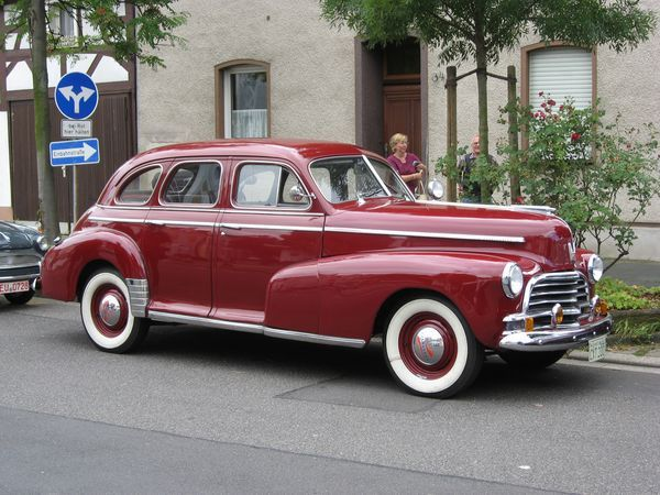 Chevrolet Fleetmaster Sport Sedan 1948