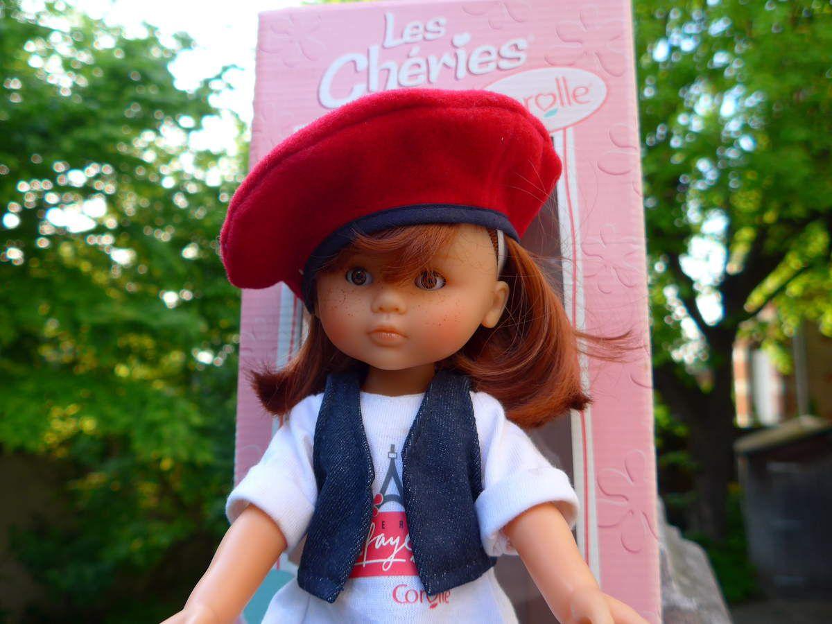 Poupée Corolle - les Chéries : Clara à Paris 2001