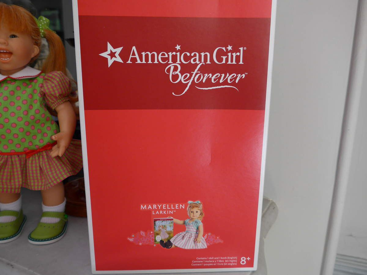 Poupée American Girl : arrivée direct de Dallas (Texas), voici Maryellen Larkin