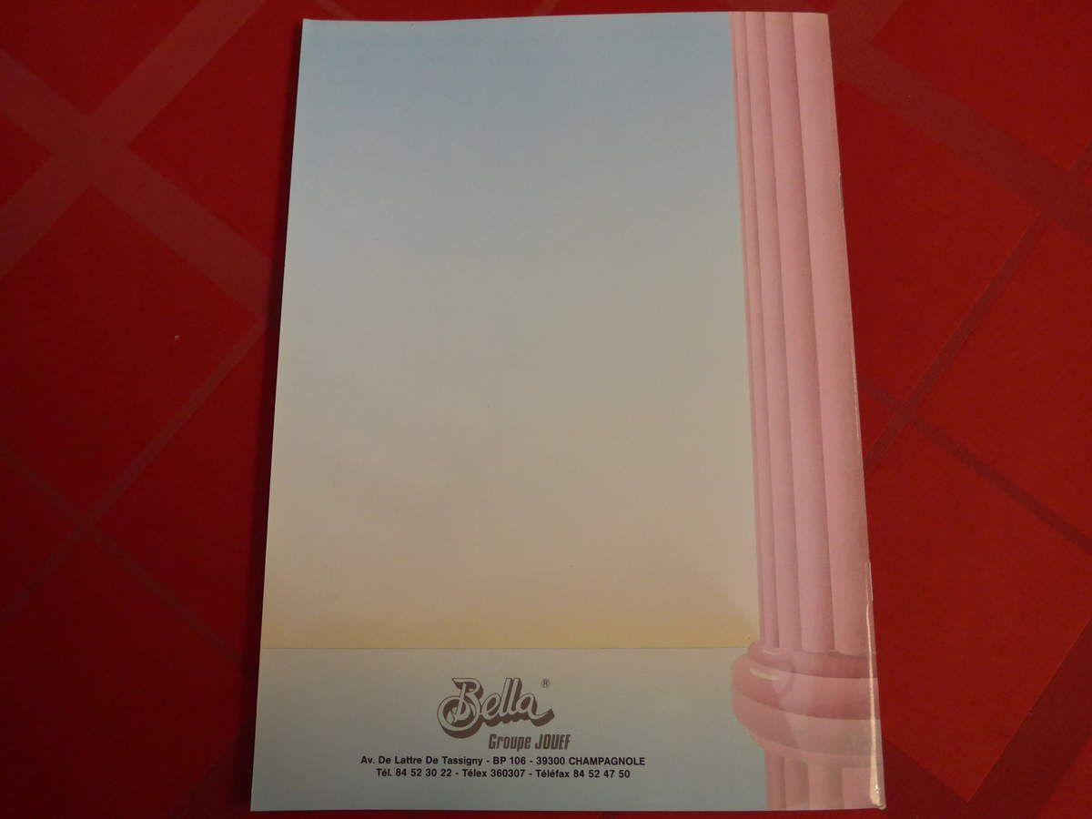 Catalogue poupée Bella 1988 - groupe Jouef