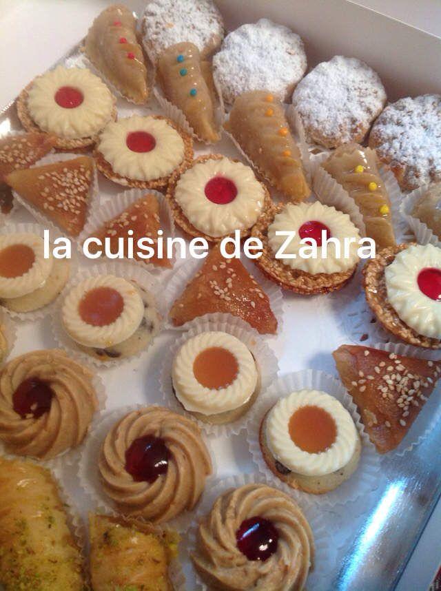 Gâteaux orientaux mariage