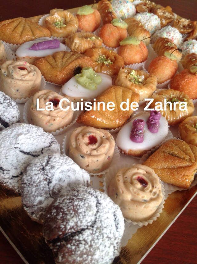 Assortiment de pâtisseries orientales