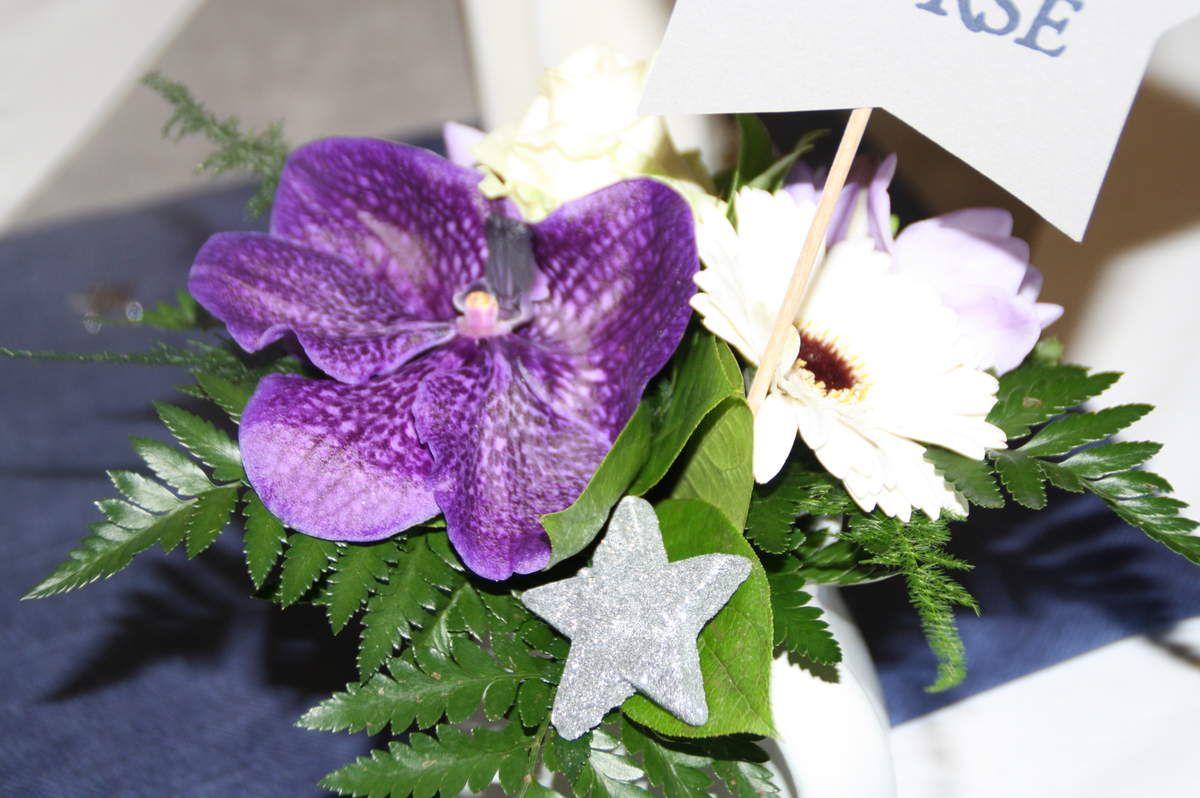 Les fleurs du jour J