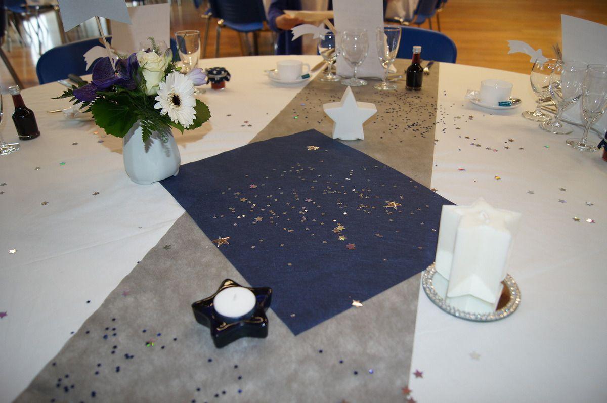 La décoration des tables, fin