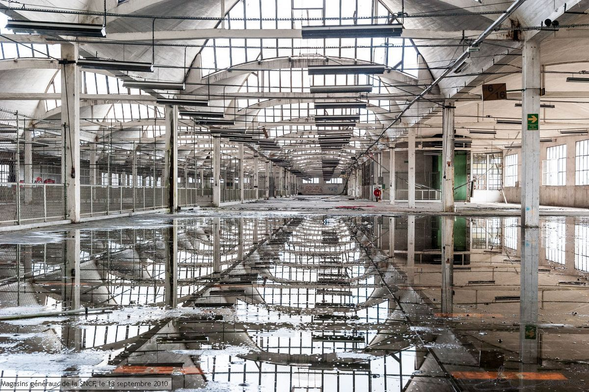 Friches et abandon photographe tours olivier pain for B architecture nantes