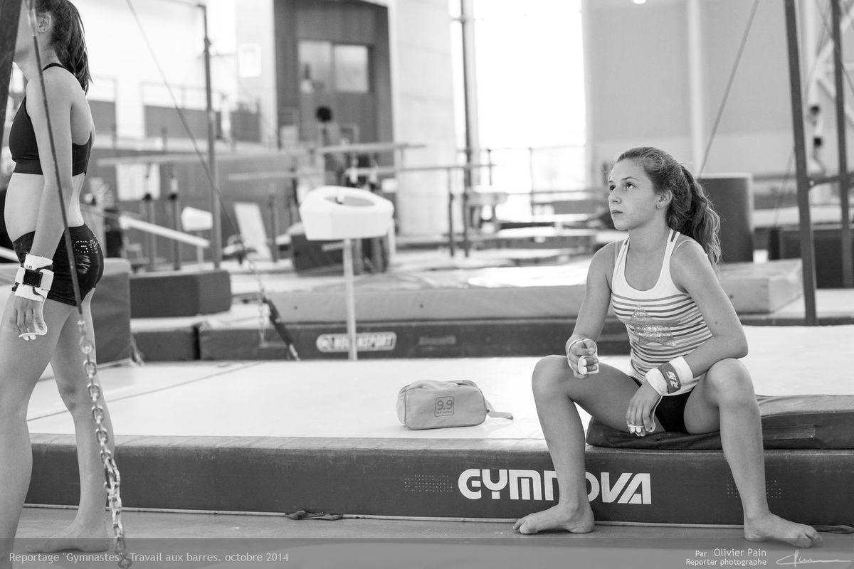 Poursuite du reportage Gymnastes à Tours.
