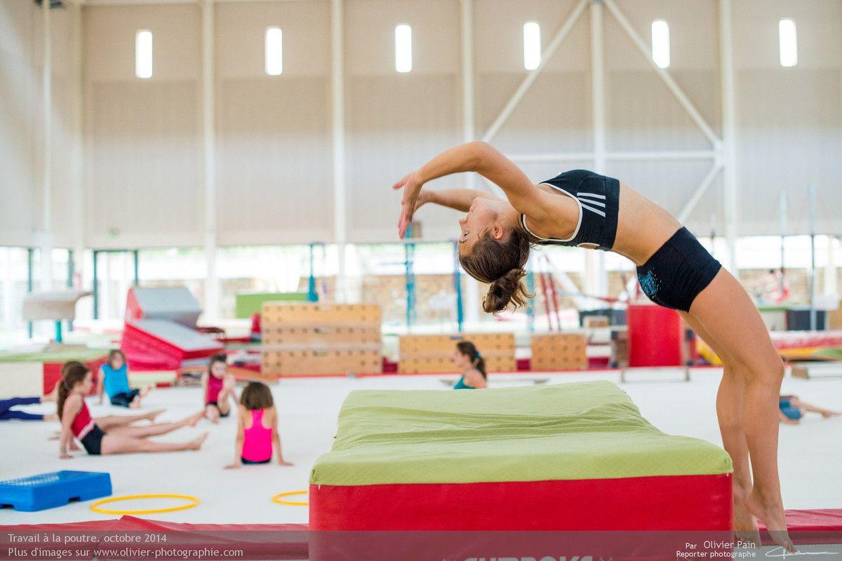 """Poursuite du reportage """"Gymnastes"""" à Tours."""