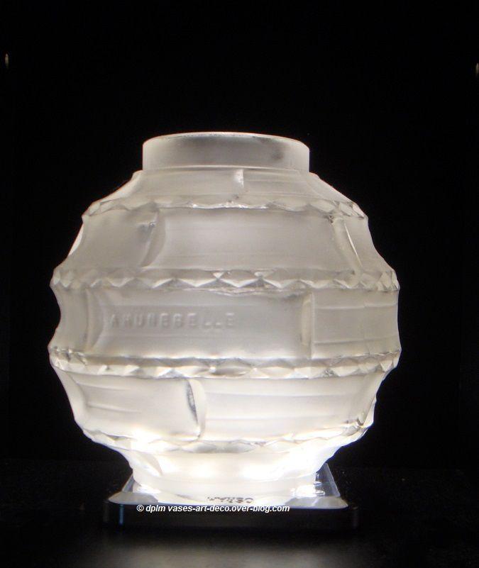 Vase Hunebelle Modèle Arlequin