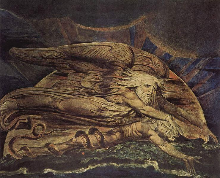 William Blake, Dieu créant Adam