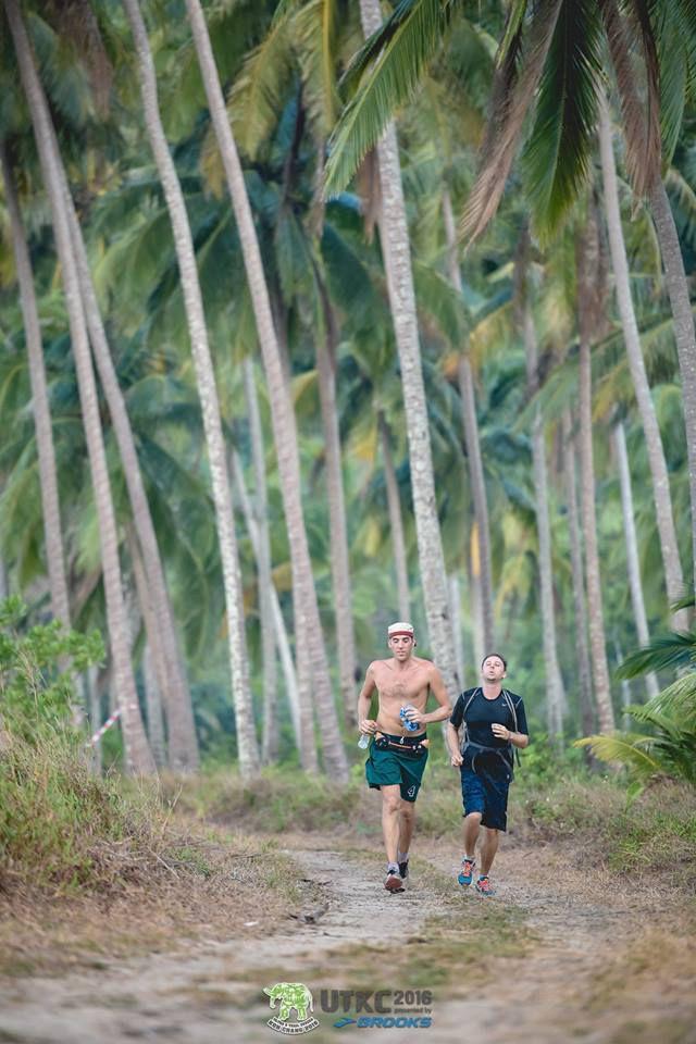 Superbe Trail de Koh Chang dans un décor unique avec mon ami Pascal Rebuffel