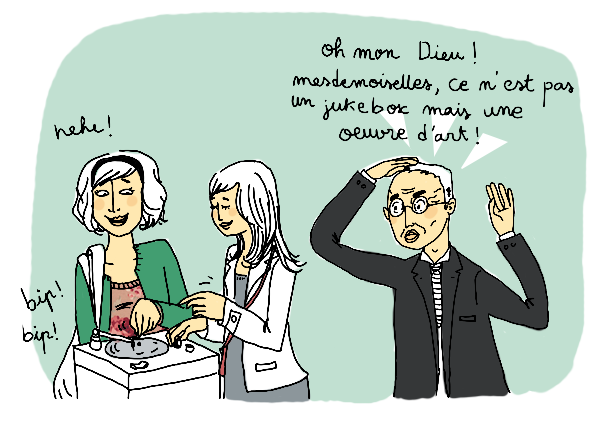 (C) Lauraine Meyer, source : http://dessins2loren.canalblog.com/archives/2010/03/25/17363125.htm