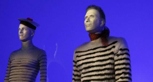 "Mannequins morphing, exposition ""Gaultier"""