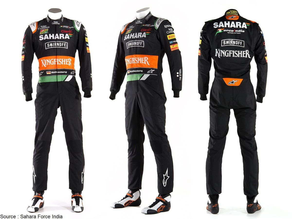 Sahara Force India change de couleur à Monaco