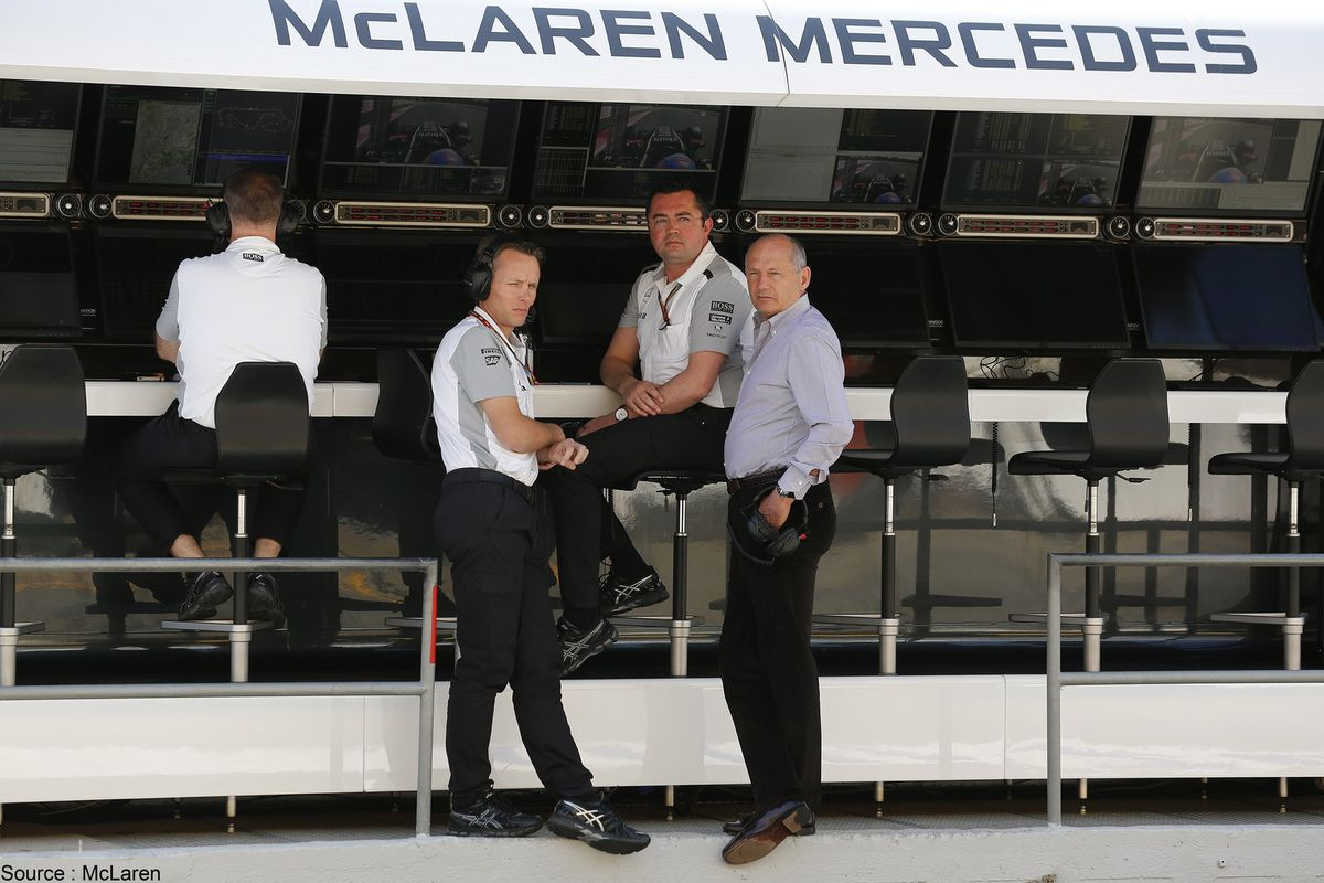 Mclaren et Red Bull trouvent un accord pour Dan Fallows