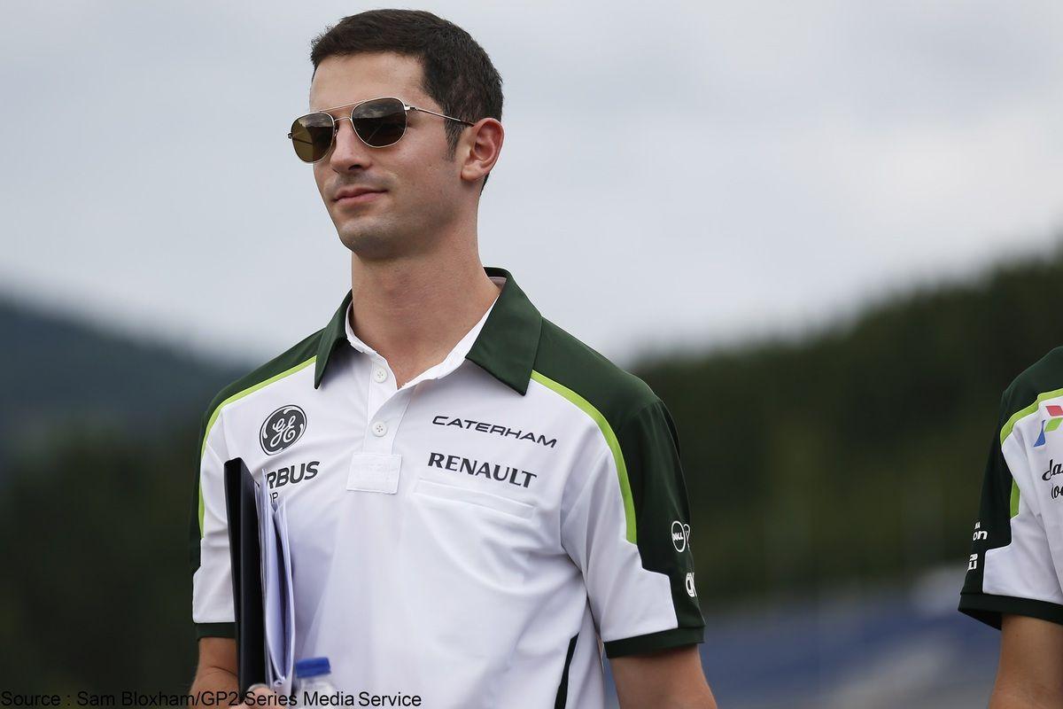 Alexander Rossi quitte Caterham