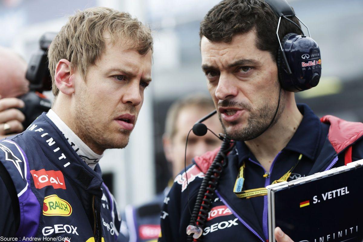 Getty - Guillaume Rocquelin ne sera plus l'ingénieur de Sebastian Vettel en 2015