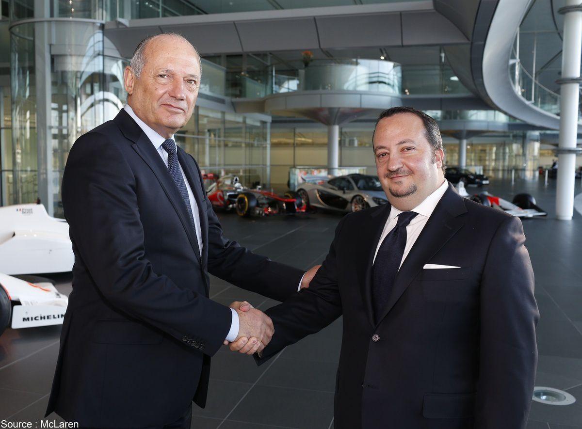 McLaren - CNN sera présent chez McLaren pour plusieurs années