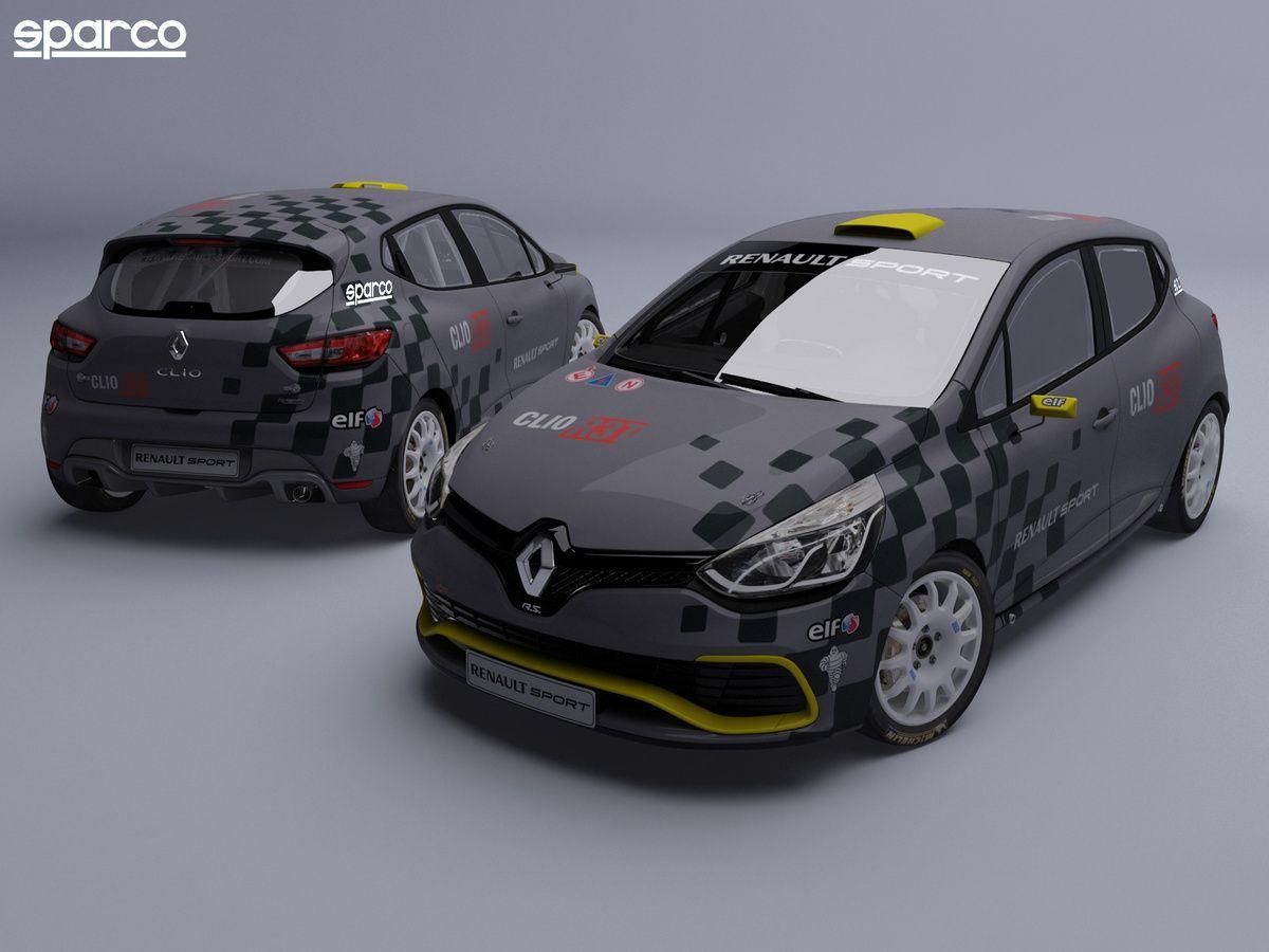 Sparco - Sparco devient un partenaire officiel de Renault Sport en Clio Cup