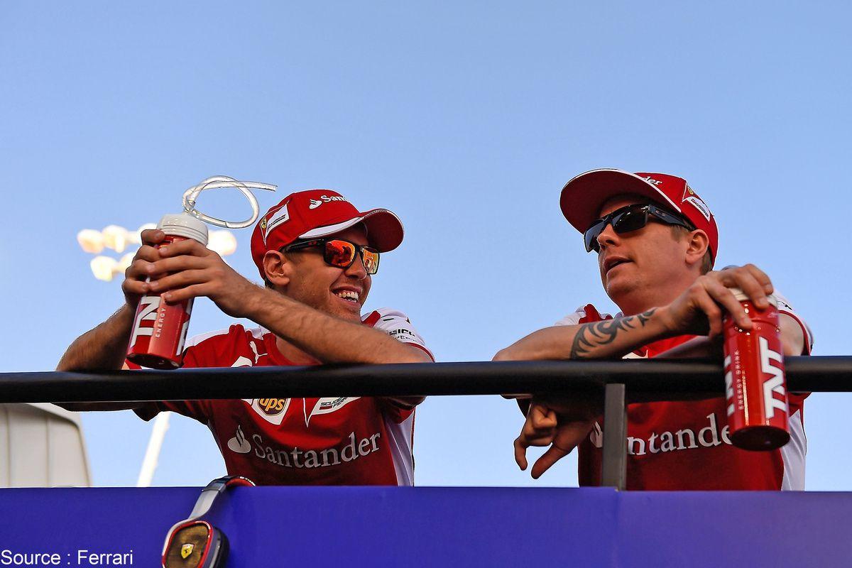 Ferrari - Sebastian Vettel et Kimi Raikkonen seront-ils encore coéquipiers l'an prochain ?