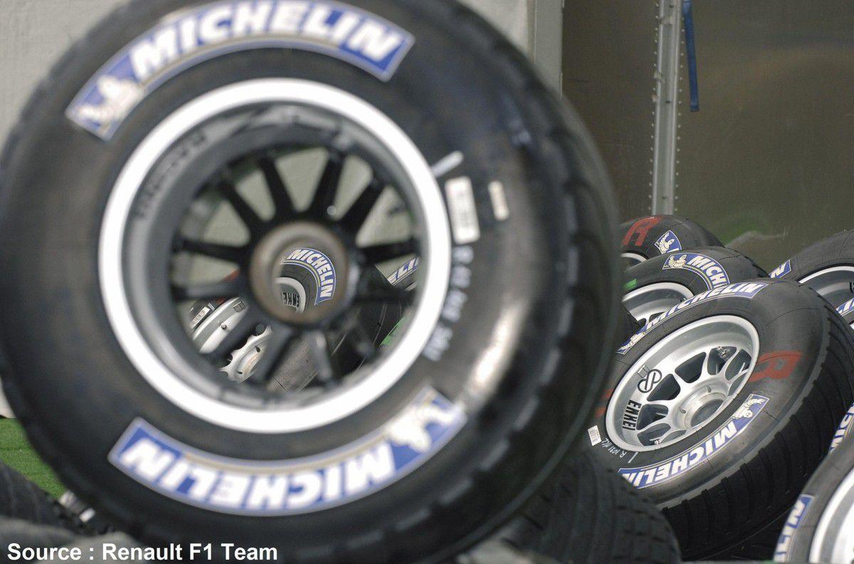 """Renault - Michelin ne veut pas revenir en 13"""" mais en 18"""""""