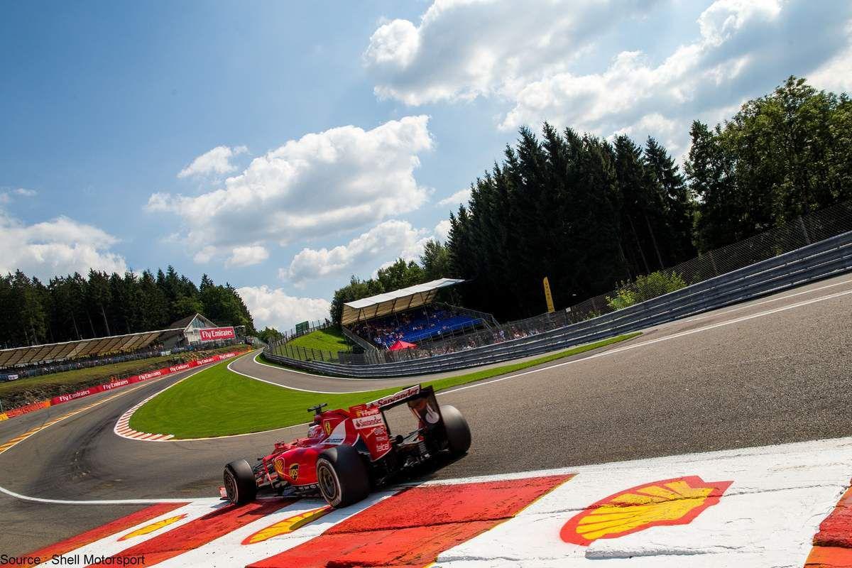 Shell Motorsport - Shell est un sponsor majeur de Ferrari et de la F1
