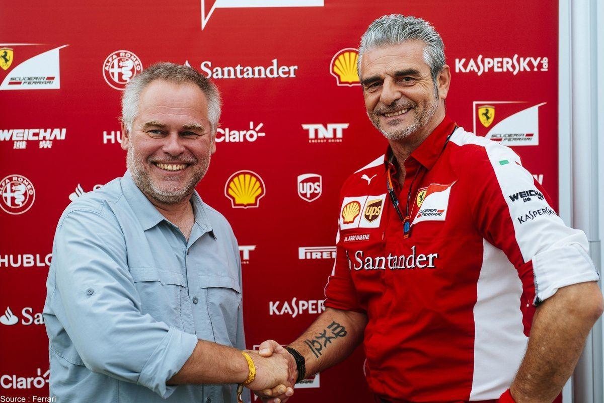 Kaspersky sera donc associé à Ferrari sur une décennie complète