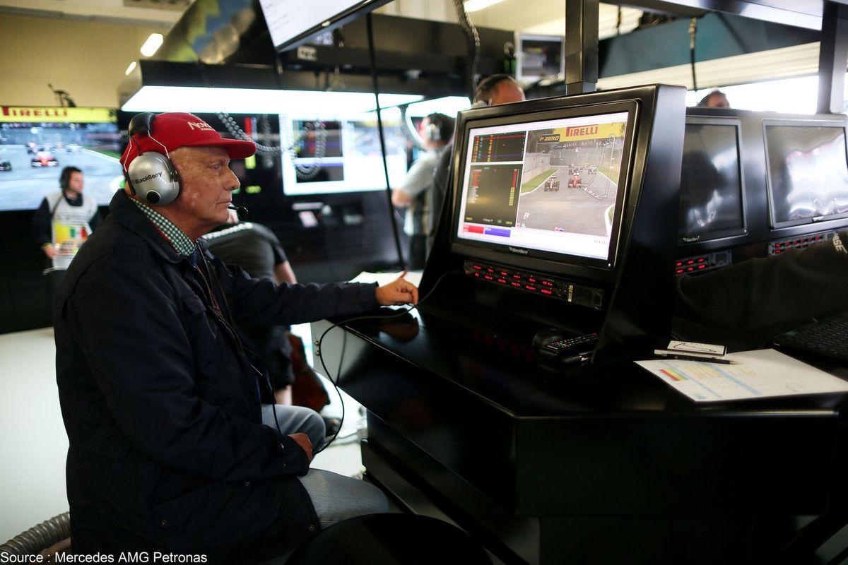 Niki Lauda dément un départ de chez Mercedes