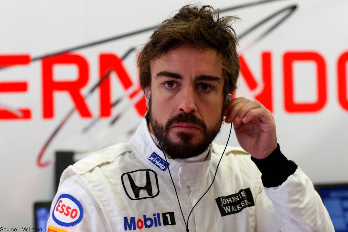 Fernando Alonso a de nouveau été au centre de l'attention à Abu Dhabi