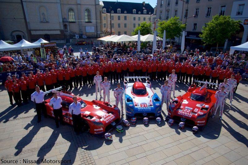 Le Mans 2015 aura été la seule course de la GT-R LM