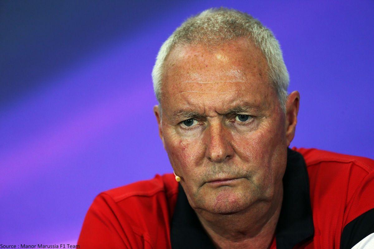 John Booth est de retour en F1