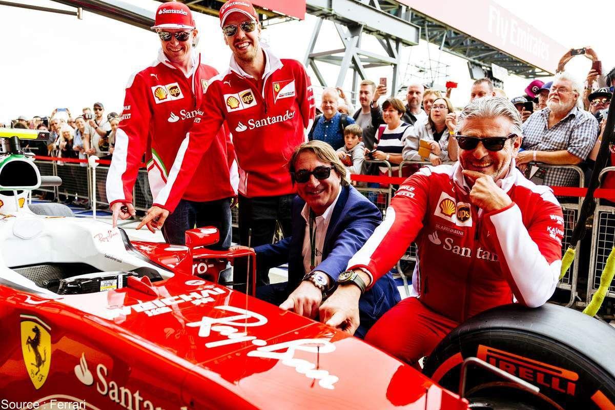 Bienvenue aux lunettes Ray-Ban chez Ferrari
