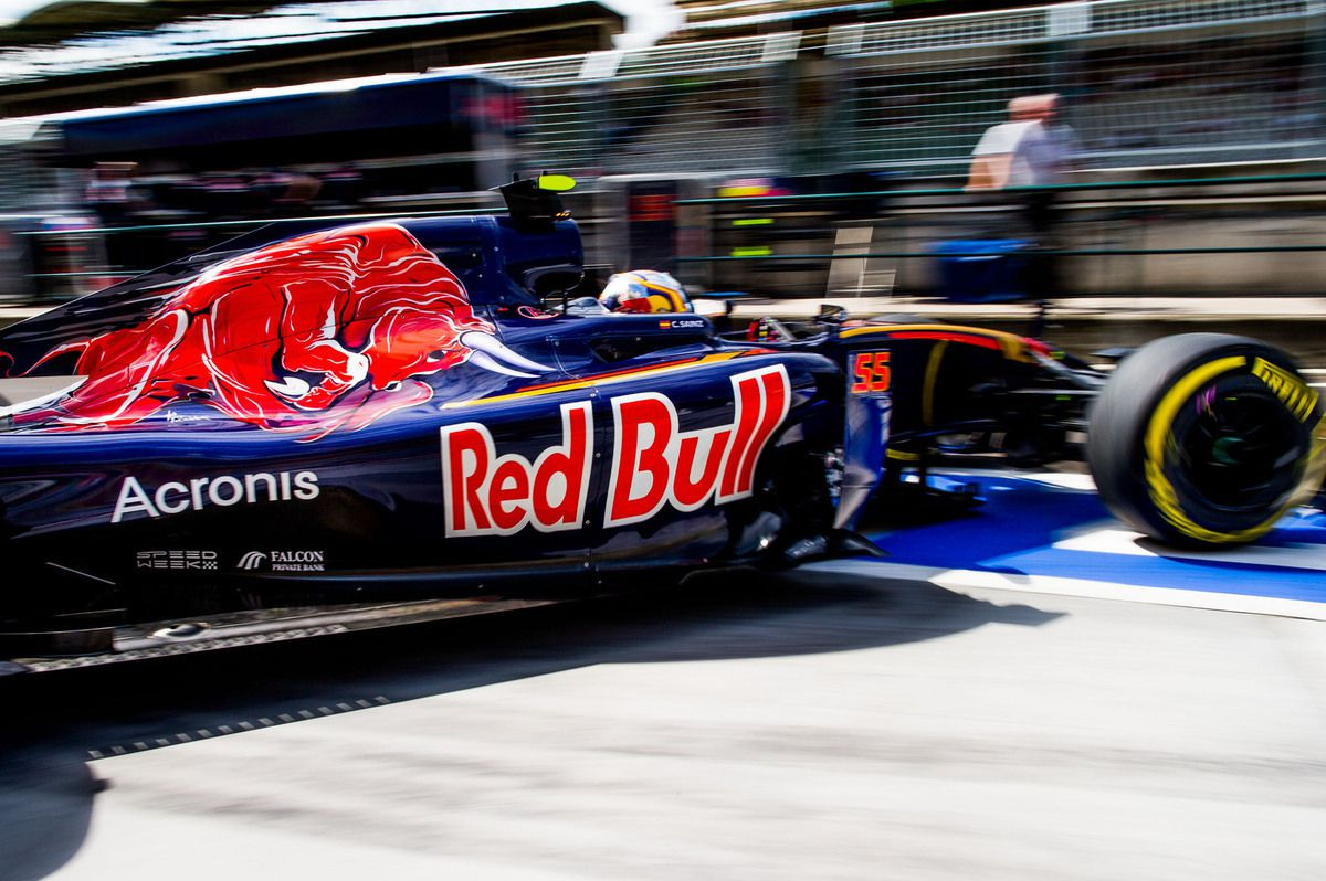 Getty Images / Red Bull - Acronis va faire partie intégrante du fonctionnement de Toro Rosso
