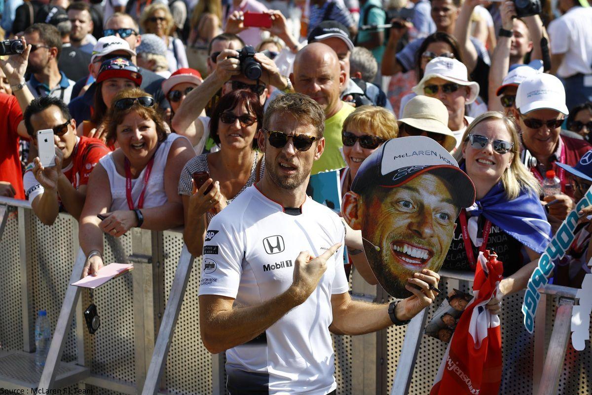 Jenson Button veut profiter de son dernier week-end à Abu Dhabi