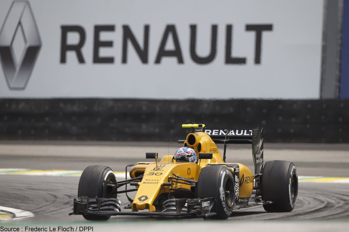 Les monoplaces de Renault devraient adopter le vert de BP et Castrol