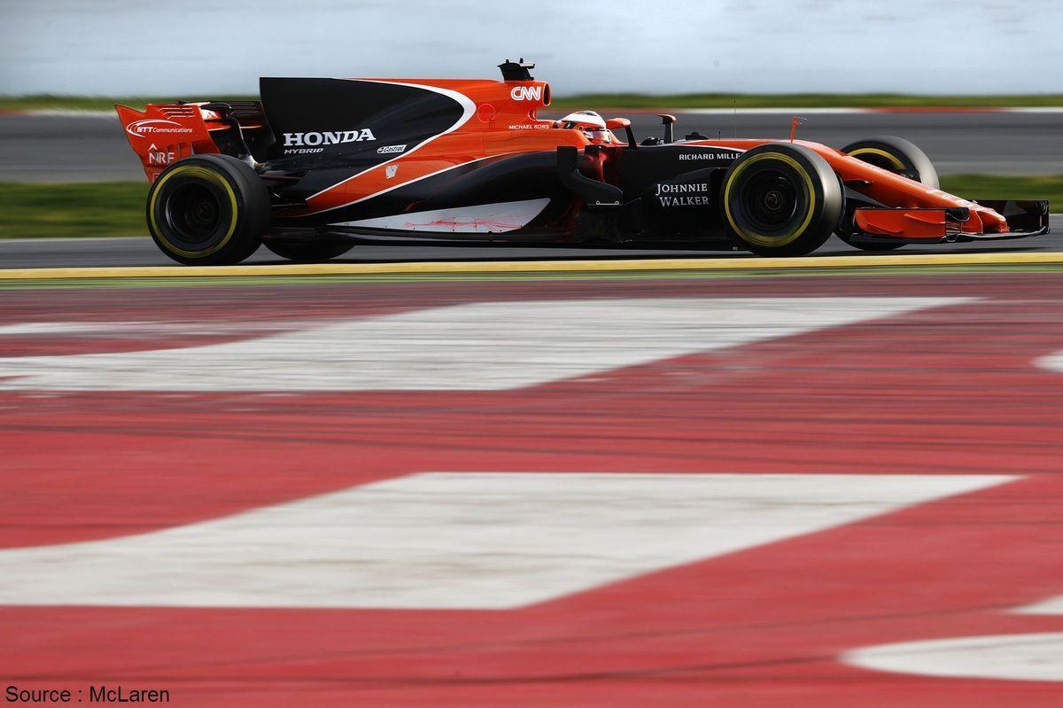 Le temps de piste est jugé trop limité par McLaren