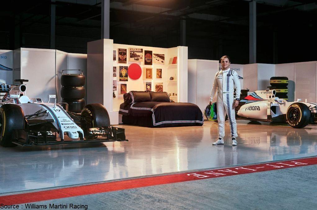 Qui sera l'heureux vainqueur d'une nuit dans le garage Williams ?