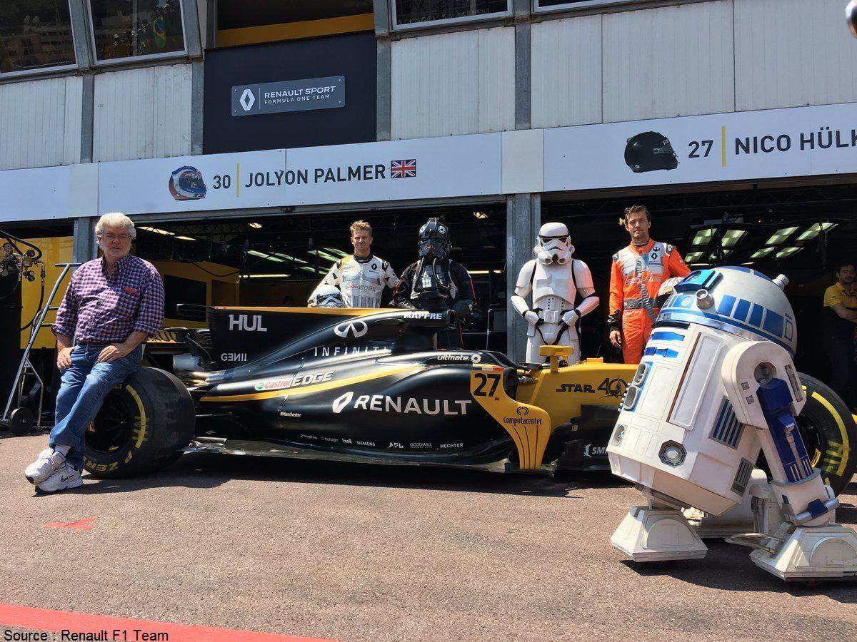 Nouvelle association entre cinéma et F1