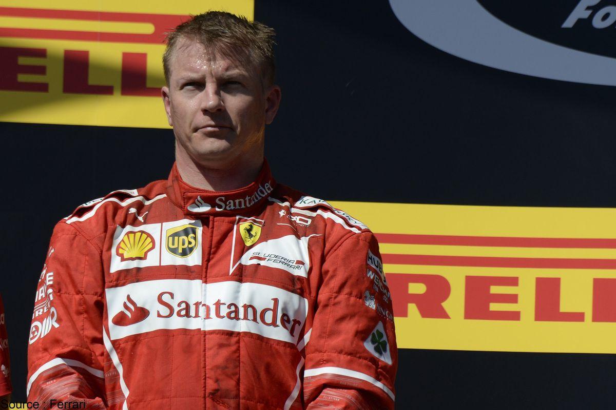 Kimi Raikkonen va poursuivre sa carrière à Maranello