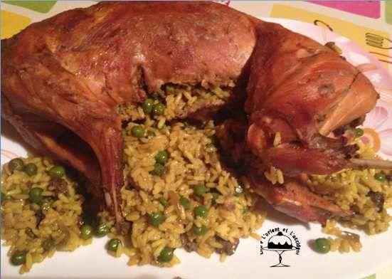 Entre l orient l 39 occident en cuisine avec um humam - Cuisiner le lapin au four ...