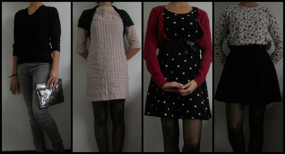 Lookbook n°4 : Tenues de Noël !
