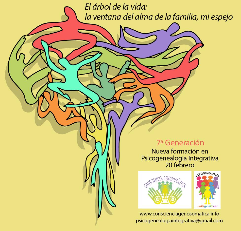 Nueva oportunidad 2016 para la formación de Psicogenealogia Integrativa: empezamos este sábado 20 de febrero!