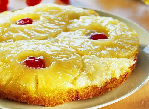 Recettes des régions : Gâteau renversé à l'ananas