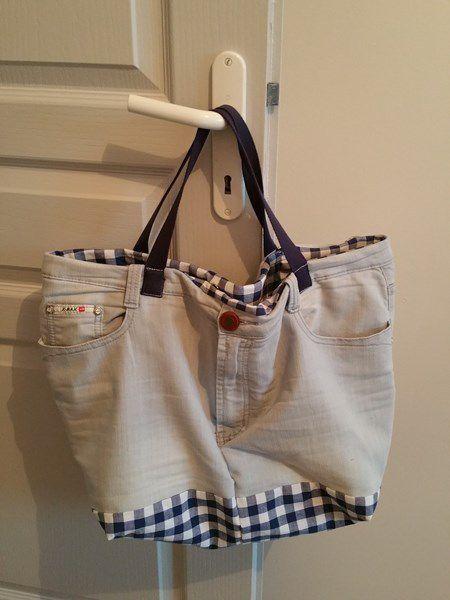 DIY : Recycler un vieux jeans et en faire un sac