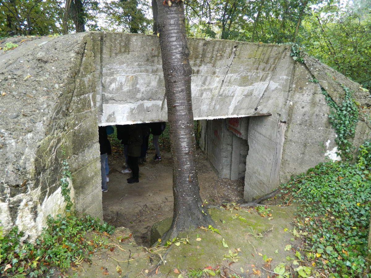 Blockhaus allemand dans les bois de Nampcel