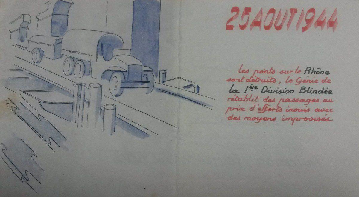 Mon ancêtre dans le Débarquement de Provence par Axel