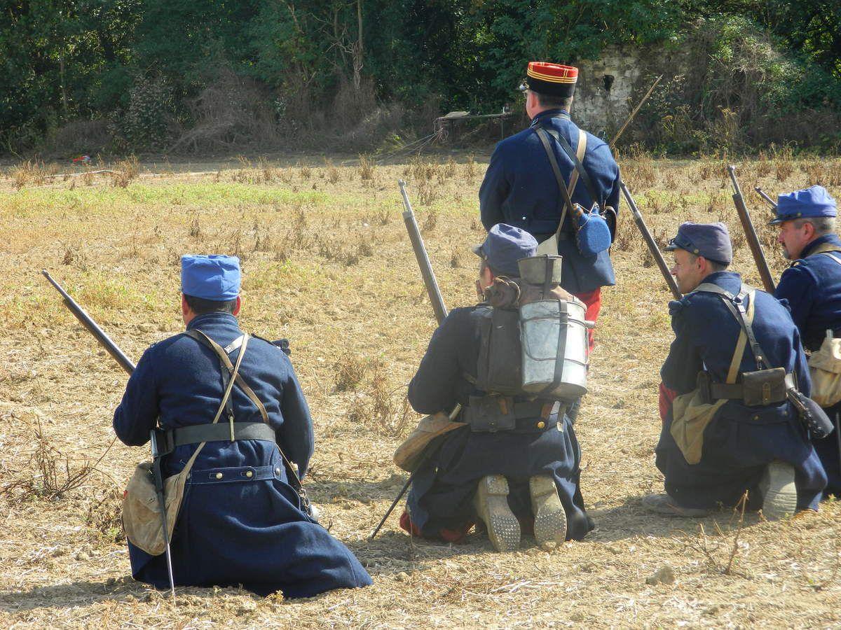 BARGNY : Reconstitution de la Bataille de l'Ourcq.