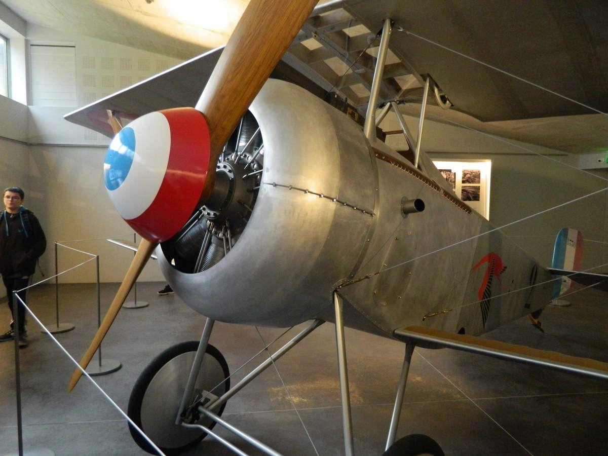 Hommage à l'as de l'aviation Georges GUYNEMER