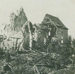 Des lieux où Marcellin Alphonse est passé durant la guerre.  Thory, Roanne, Cugny