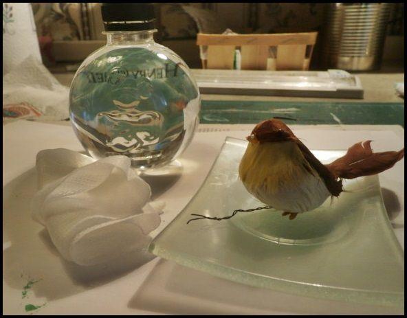 Mon bel oiseau .. A Vintage Journey .....